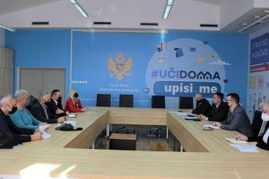 Sastanak predstavnika Ministarstva, PKCG i CSO