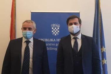 Ministar Mitrović u posjeti Republici Hrvatskoj