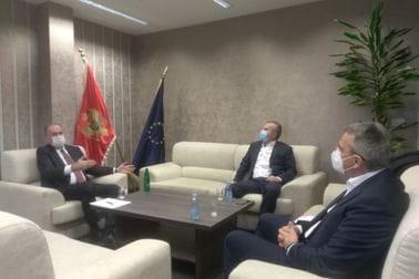 Lalošević ugostio rukovodstvo Fudbalskog saveza Crne Gore