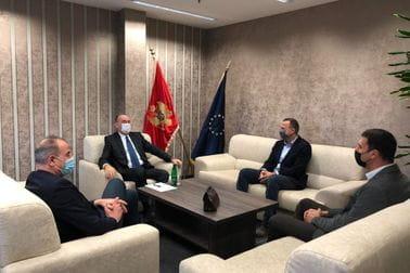 Sastanak sa predstavnicima Odbojkaškog saveza CG