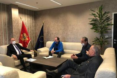 Sastanak sa predstavnicima Jedriličarskog i Karate saveza Crne Gore