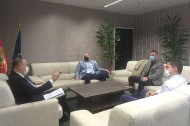 Sastanak sa predstavnicima Džudo saveza Crne Gore