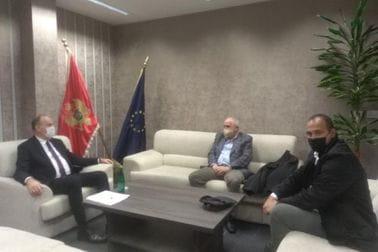 Sastanak sa predstavnicima Šahovskog saveza i Teniskog saveza Crne Gore