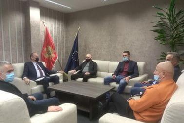 Sastanak sa predsjednicima predsjednike Kik Boks, Biciklističkog, Bućarskog, Auto Karting i Ju-Jitsu  saveza Crne Gore