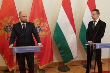 Montenegro can count on political support of Hungary
