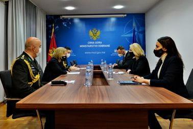 Uspješna saradnja između ministarstava odbrane i oružanih snaga Turske i Crne Gore