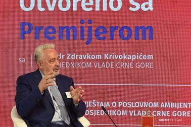 "Zdravko Krivokapić - ""Otvoreno s premijerom"" - AmCham"