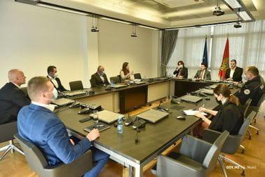 Abazović i Sekulović ugostili novoimenovane pomoćnike Uprave policije
