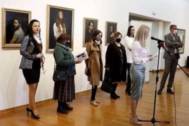 """Savjetnica Maida Gorčević otvorila kolektivnu izložbu slika pod nazivom """" Ženski likovni rukopisi"""""""