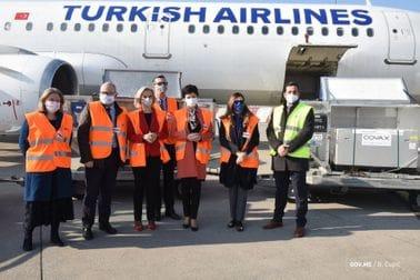 COVAX isporučio 24 000 doza vakcine Astra Zeneka Crnoj Gori