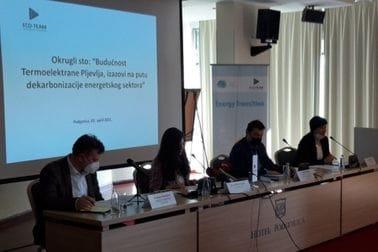 Održan okrugli sto na temu ,,Budućnost Termoelektrane Pljevlja, izazovi na putu dekarbonizacije energetskog sektora''