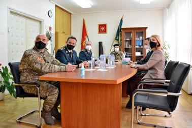 Ministarka Injac obišla Vojno-medicinski centar