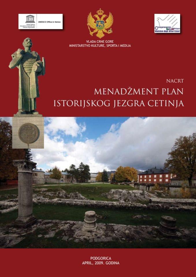 Poziv na javnu raspravu o Menadzment planu Cetinja i Nacrt Menadzment plana