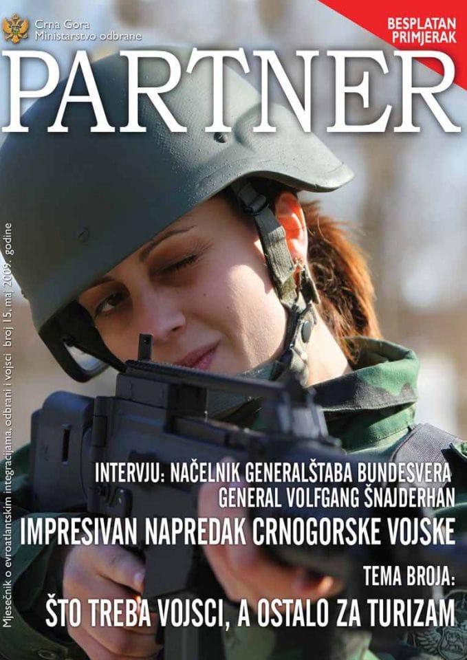 Petnaesti broj mjesečnika ''Partner''