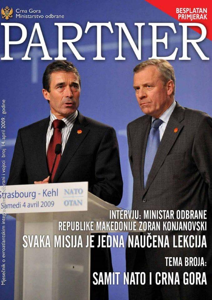 Četrnaesti broj mjesečnika ''Partner''
