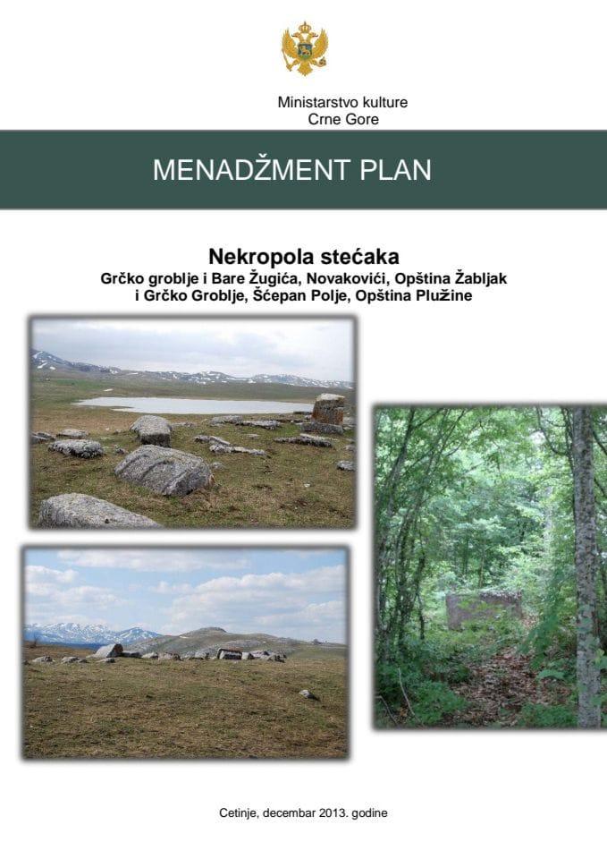 Menadžment plan - Nekropola stećaka