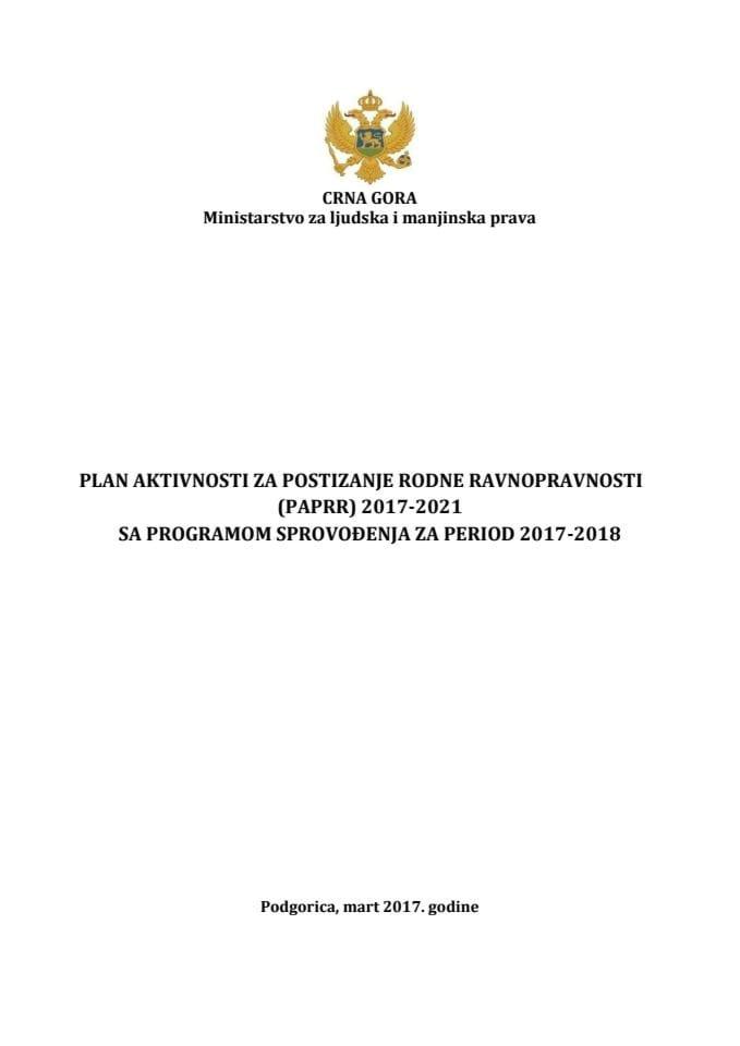 PAPRR 2017 - 2021