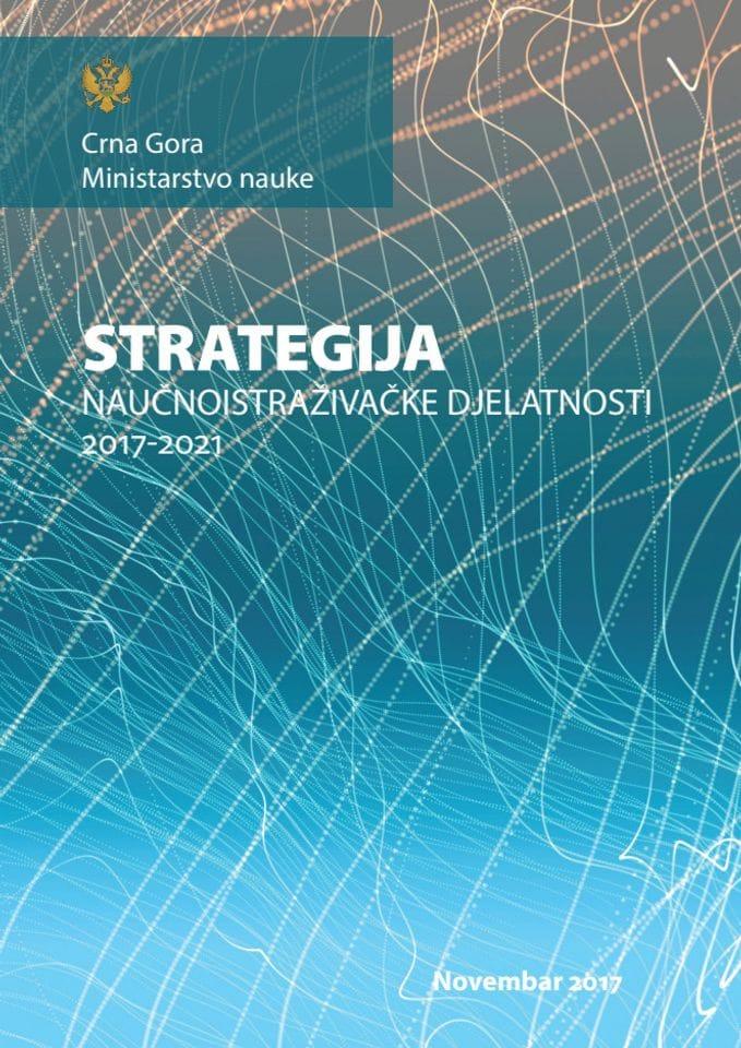 Strategija naučnoistraživačke djelatnosti (2017-2021)