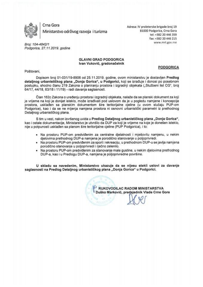 104-4842_1 Predlog DUP Donja Gorica