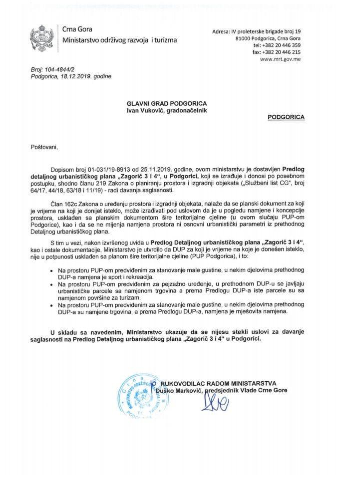 104-4844_2  Predlog DUP-a Zagorič 3 i 4, Glavni grad Podgorica