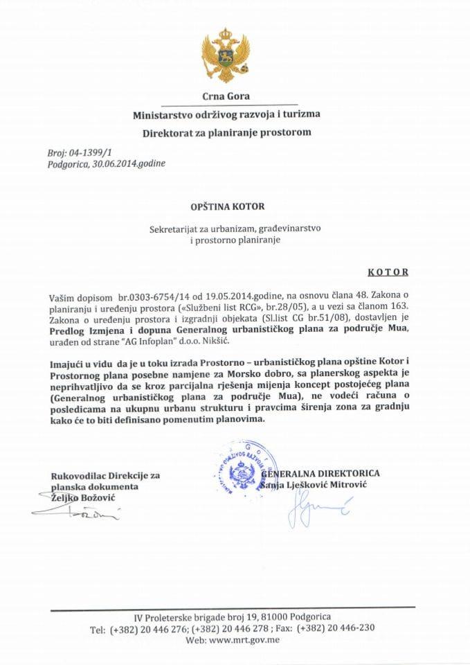 04_1399_1 PREDLOG IID GUP MUO KOTOR OPŠTINA KOTOR