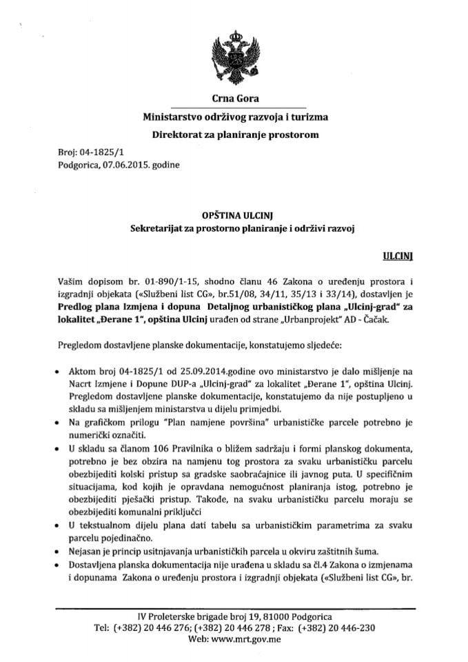 04_1825_1 Predlog IID DUP-a Ulcinj grad