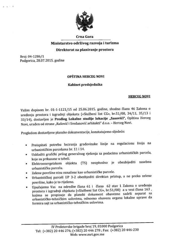 04_1286_1 Predlog LSL Sasovići - Opština Herceg Novi