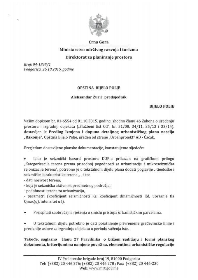 04-1485_1 Predlog Izmjena i dopuna detaljnog urbanistickog plana naselja Rakonje