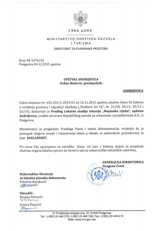 04-1476_16 Saglasnost na Predlog LSL  Mojanska Rijeka