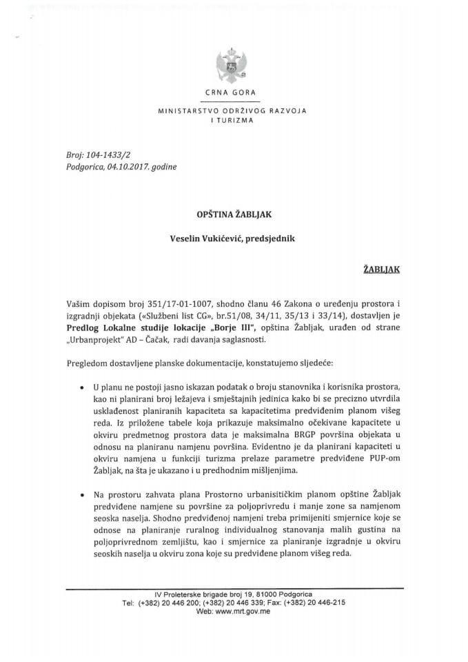 104-1433_2 Predlog LSL Borje III, opstina Zabljak