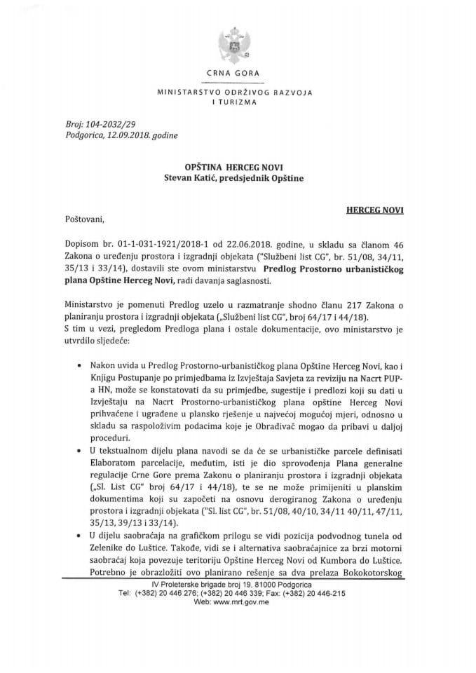 104-2032_29 Predlog PUP-a Opštine Herceg Novi