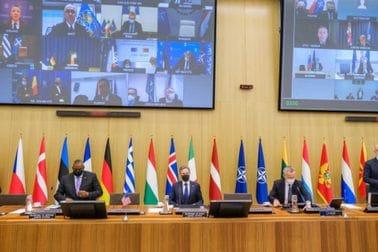 Ministarka Olivera Injac na sastanku Sjevernoatlantskog savjeta NATO u formatu ministara vanjskih poslova i ministara odbrane