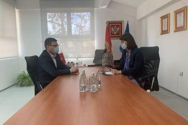 Milena Lipovina-Božović u posjeti Centru za profesionalnu rehabilitaciju