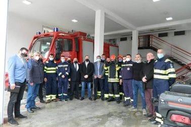 Ministar Stijović uručio vrijednu opremu andrijevačkoj Službi zaštite i spašavanja