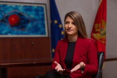 Ministarka Tamara Srzentić
