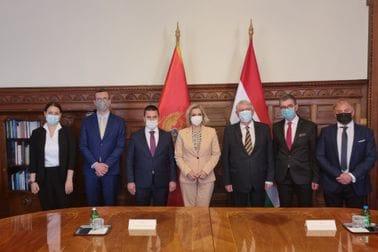 Ministarka Borovinić Bojović sa delegacijom u posjeti Mađarskoj