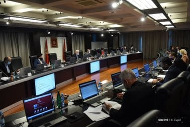 21. sjednica Vlade Crne Gore