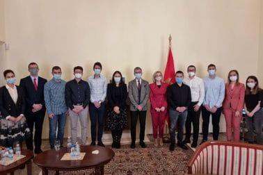 Ministarka Borovinić Bojović sa crnogorskim studentima u Mađarskoj
