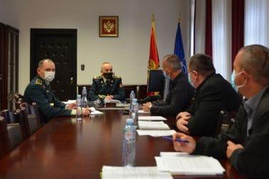 Начелник Генералштаба на састанку с представницима СОВЦГ