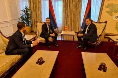 Milatović i Spajić sa Dodikom: Naglašena potreba jačanja regionalne saradnje