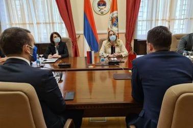 Ministri Milatović i Spajić u posjeti Banja Luci: Predstoji unaprjeđenje saradnje dvije prijateljske zemlje