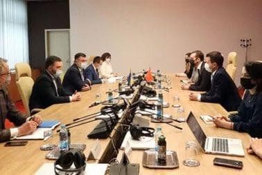 Ministri Milatović i Spajić sastali su se sa predsjedavajućim Savjeta ministara BiH Zoranom Telgetijom