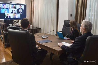 Premijer Krivokapić razgovarao s predstavnicima EBRD-a