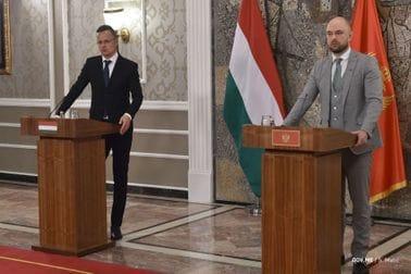 Ministri Radulović i Sijarto: Zajednička evropska budućnost prijatelja i saveznika