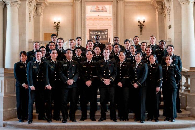 Образовање на војним академијама