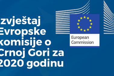 Извјештај Европске комисије о Црној Гори за 2020. годину
