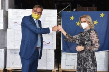 Donacija Njemačke - brzi antigenski testovi