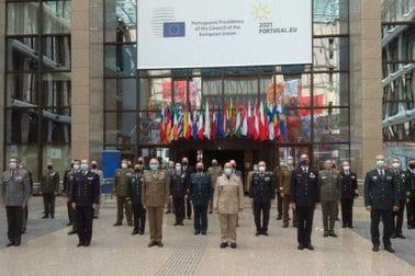 NGŠ na sastanku Vojnog komiteta EU