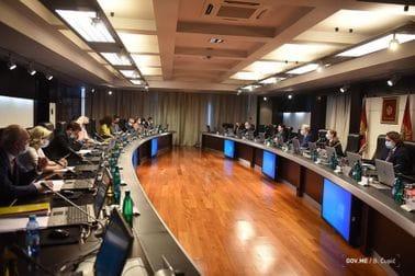 25. sjednica Vlade Crne Gore