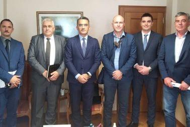 Sastanak ministra pravde, ljudskih i manjinskih prava Dr Vladimira Leposavića